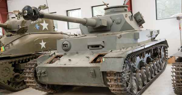 Fleet Of Military Tanks Auction